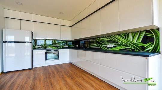Balti virtuvės baldai