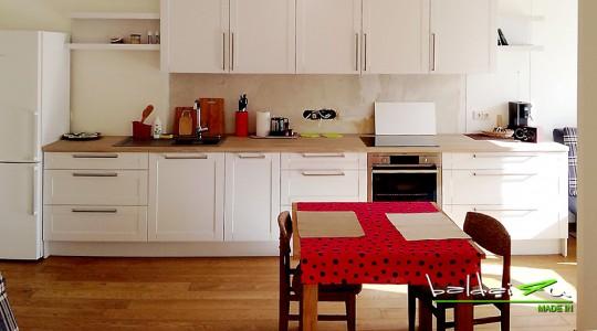 klasikiniai virtuves baldai