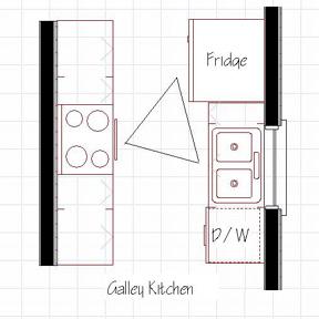 Koridoriaus tipo virtuves baldai