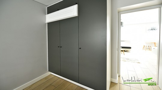 Sienine spinta, wardrobe, wardrobe in bedroom