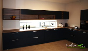 Tamsus virtuves baldai