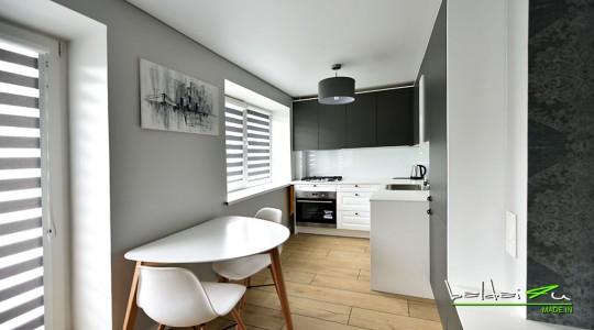 Baldai4u virtuvė su svetaine
