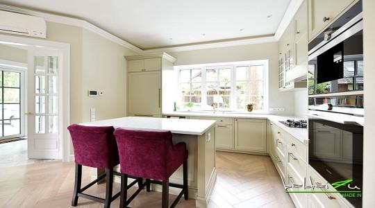 Klasikinių Virtuvinės baldų gamyba