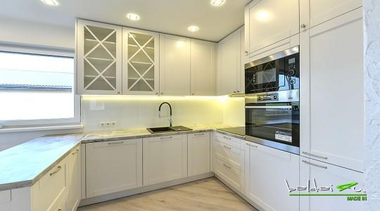 KLasikiniai virtuviniai baldai