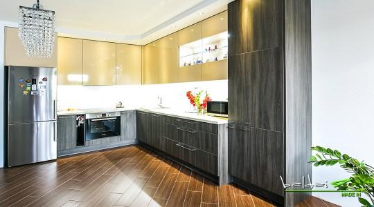 Modernus virtuves baldai, virtuves baldai