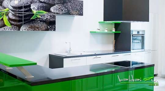 zali virtuves baldai