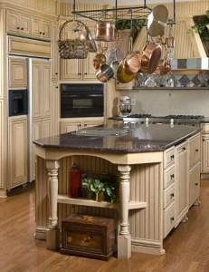 antikinio stiliaus virtuve