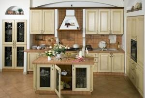 italisko stiliaus virtuve