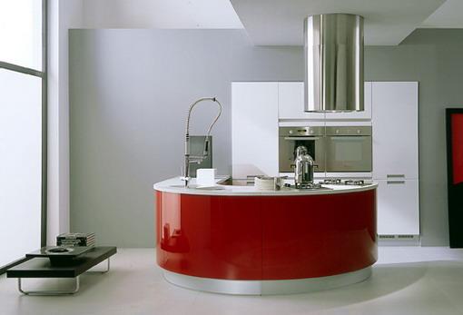 minimalistine virtuve, suapvalinta virtuve, minimalistiniai virtuves baldai