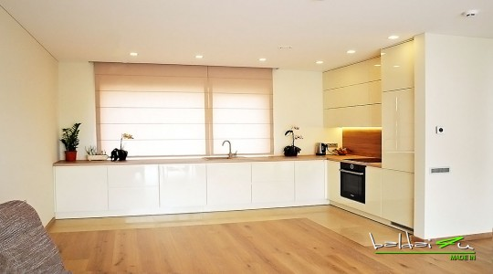 Balta virtuve, virtuves baldu gamyba,